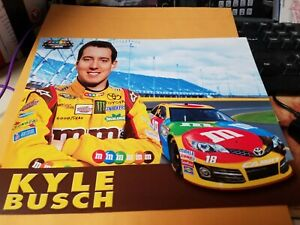 Kyle Busch M & M's Racing 2013  Photo Postcard