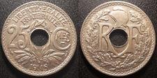 France - IIIème République - 25 centimes 1915 Lindauer souligné SUP - F.170/4