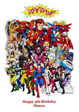 Personalised SuperHero Birthday Card
