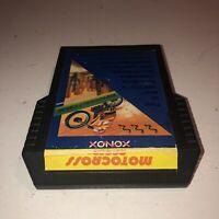 Atari 2600 Motocross Racer NTSC Game Cartridge Xonox Rare Single Ender Tested