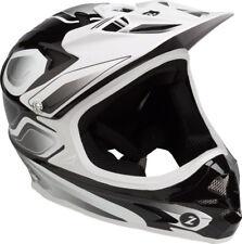 Lazer Phoenix Plus Full Face Helmet: Black/White XS