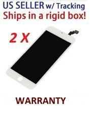 Lot of 2 White LCD Display Touch Screen Digitizer Assembly Replacement iPhone 6