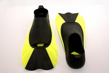 Short Blade Swimming Diving Flippers / Fins with Bag
