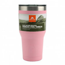 Ozark Trail 30-Ounce Double-wall Vacuum-Sealed Stainless Steel Tumbler Pink
