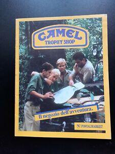 CATALOGO - CAMEL TROPHY SHOP IL NEGOZIO DELL'AVVENTURA 1986-1987