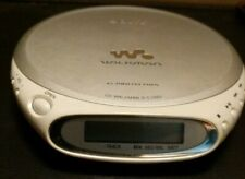 Sony Walkman D-Ej360 Discman Silver Cd Player - G Protection Tested Works!