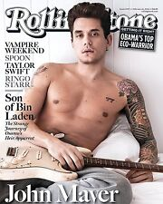 John Mayer Rolling Stones Cover Wall Poster Print Art Decoration 16x20 Inches