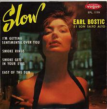 EARL BOSTIC SMOKE RINGS FRENCH ORIG EP