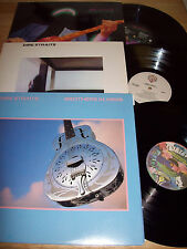 """3 RARE Dire Straits NEAR MINT 12"""" LPs Dire Straits/Brothers in Arms/Money For No"""