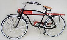 1 Vintage Bicycle Bike 1950s Antique Classic Cycle Metal Midget Model Red