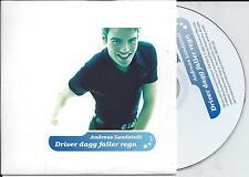 ANDREAS LUNDSTEDT - Driver dagg faller regn CD SINGLE 2TR MELODIFESTIVALEN 1996