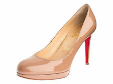 Christian Louboutin Damen Pumps Lackleder nude 38