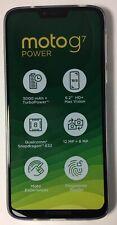 New Motorola Moto G7 Power Ceramic Black 64GB 4G Dual Sim Smartphone Unlocked