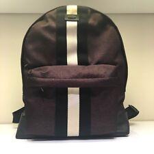 NEW BALLY HINGIS NYLON BACKPACK IN MERLOT DESIGNER BAG - 16.5'' x 12'' x 6'