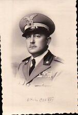 FOTOGRAFIA UFFICIALE REGIO ESERCITO ALPINI - DECORATO - 1937  C8-109