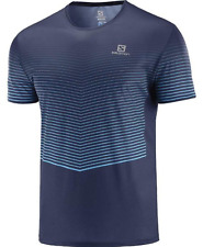 Salomon Men's Sense Tee Running Shirt Night Sky