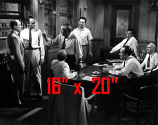 "12 Angry Men~Jury~Judge~Courtroom~Attorney~Photo~Poster~16"" x 20"""