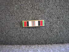MILITARY MEDAL LAPEL PIN - AFGHANISTAN CAMPAIGN MEDAL RIBBON