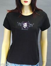 T-Shirt femme MC BAD TO THE BONE - Taille M - Style BIKER HARLEY