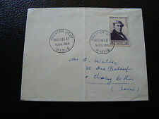 FRANCE - enveloppe 1er jour 9/7/1953 michelet (cy12) french