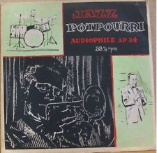 JAZZ POTPOURRI, RED NICHOLS - RED VINYL AUDIOPHILE LP