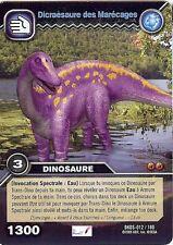 Carte Card Game DINOSAUR KING DKDS - 12 /100 DICRAESAURE DES MARECAGES 1300 VF