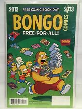 Bongo Comics FCBD 2013 (The Simpsons) VF/NM 1st Print Bongo Comics