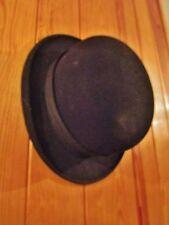 ancien chapeau  melon en feutre-1900-hospital-saint étienne-taille 54