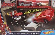 Marvel Hot Wheels Iron Man Spider-man or Hulk Playset & Car Track Official All 3 Dkt27