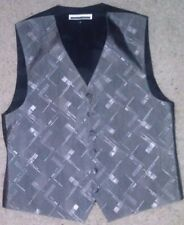 Perry Ellis America Silver Men's full back formal vests (10 pieces - pick sizes)
