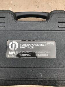 """Javac JAV-1025 Edge Tube Expander Set 1/4"""" - 1-1/8"""""""