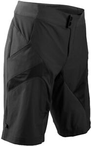 Sugoi Men Evo-X Short Mobile Tech Cycling (unlined) Nylon, Spandex - BLACK - XL