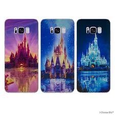Château de Disney Coque/Etui/Case pour Samsung Galaxy S8 (G950) / Silicone Gel