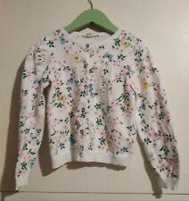 Rebeca flores y mariposas H&M talla 5 años jersey