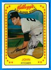 1981 Kellogg's TOMMY JOHN (ex-mt) New York Yankees