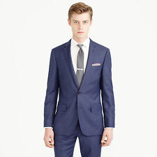 *NWT* J.Crew Ludlow Suit Jacket in Italian Worsted Wool, Harbor Blue - 38S, $425