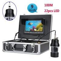 "9""Color Screen 360 Rotating Camera Underwater Fishing Video Camera Fish Finder"
