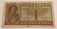 Netherlands Banknote. 1 Gulden. Dated 1949. P72.