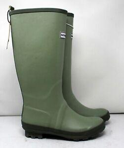 Smith & Hawken Womens 7 Tall Waterproof Gardening Boots Green