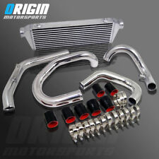 For 98-05 JETTA GOLF 1.8T BOLT ON FMIC FRONT INTERCOOLER + PIPING HOSE KIT