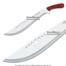 Full Tang Combat Bolo KUKHRI Machete Fixed Blade Knife Short Sword with Sheath