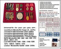 Look 12330-6-4 Münztableaus 6x 95x95x17mm Für Schützen Orden Militaria Abzeichen