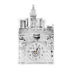 Islamic Wall Clock Ramadan Eid Islamic Allah Alarm Calendar Brown Red Decoration