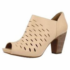 Clarks 100% Leather Mules Heels for Women