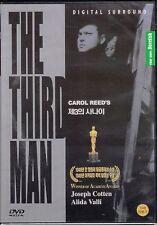 The Third Man is a 1949 British film Carol Reed's Dvd New Sealed All Regions