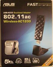 ASUS USB-AC53 Dual-Band Wireless-AC1200 IEEE 802.11ac IEEE 802.11a/b/g/n USB 2.0