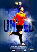 More details for oxford united v crewe alexandra 13/10/2020 (2nd match postponed) ltd print run