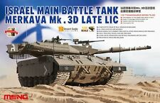 Meng Model TS-025 1/35 Israel Main Battle Tank Merkava Mk.3D Late LIC