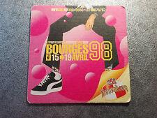 Superbe sous bock - Kronenbourg - Printemps de Bourges 1998