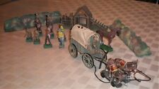 12-pc Lot Hausser wagon, Lineol, other - Rough but cheap!